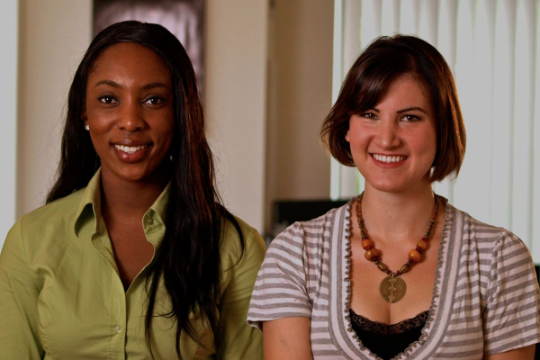 Jessica O. Matthews and Julia Silverman, Co-Founders, Uncharted Play, Inc.