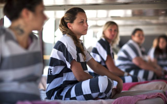 The Women-Behind-Bars Paradox: Double Trouble
