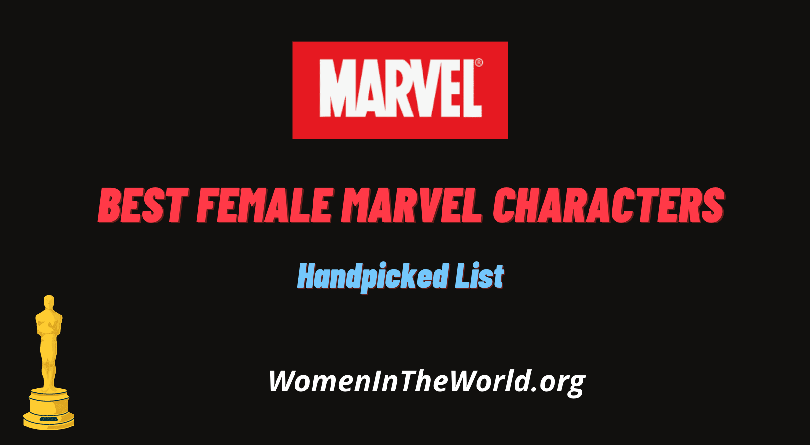 Best Female Marvel Characters
