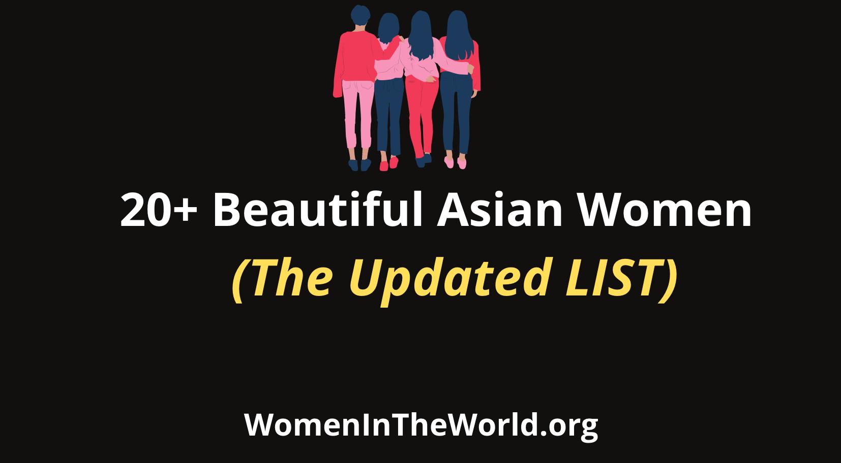 Beautiful Asian Women