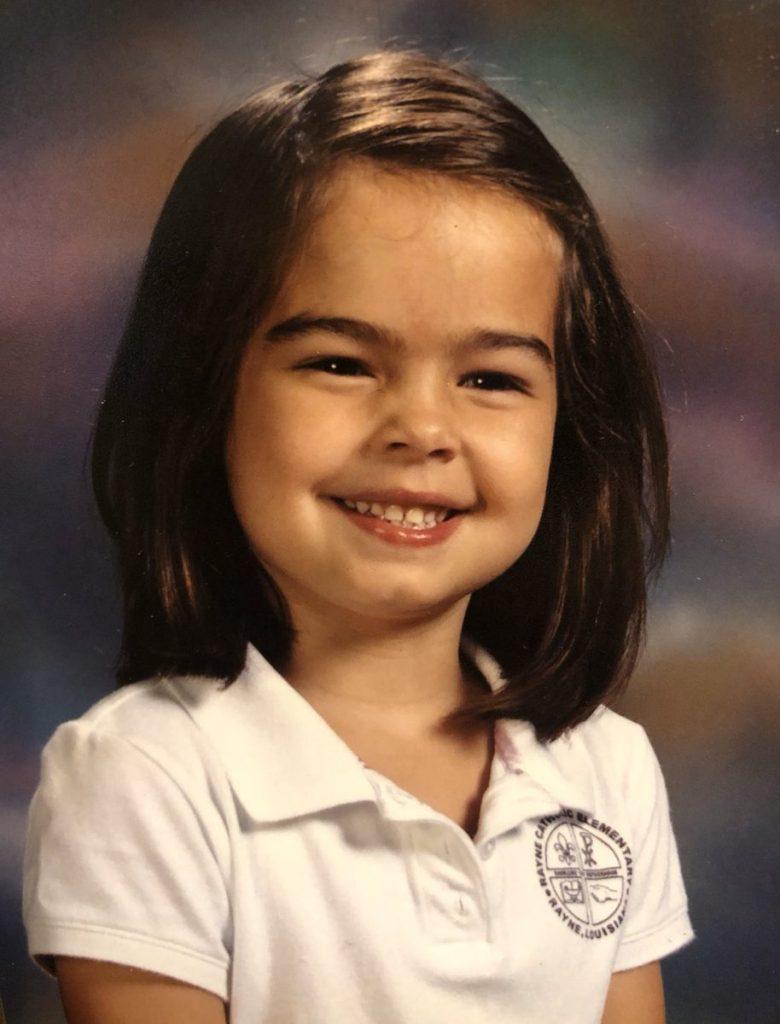 Childhood photo of Addison Rae