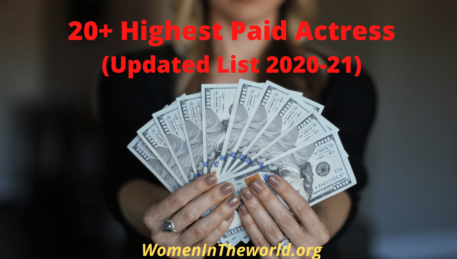 Highest Paid Actress