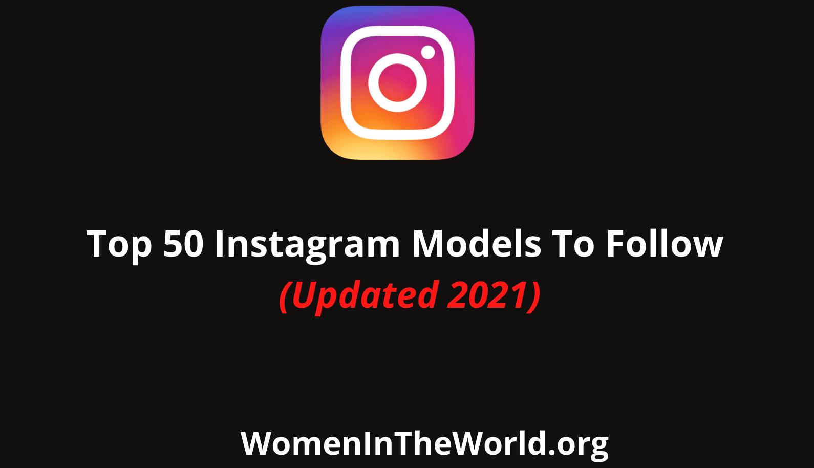 Instagram Models to follow