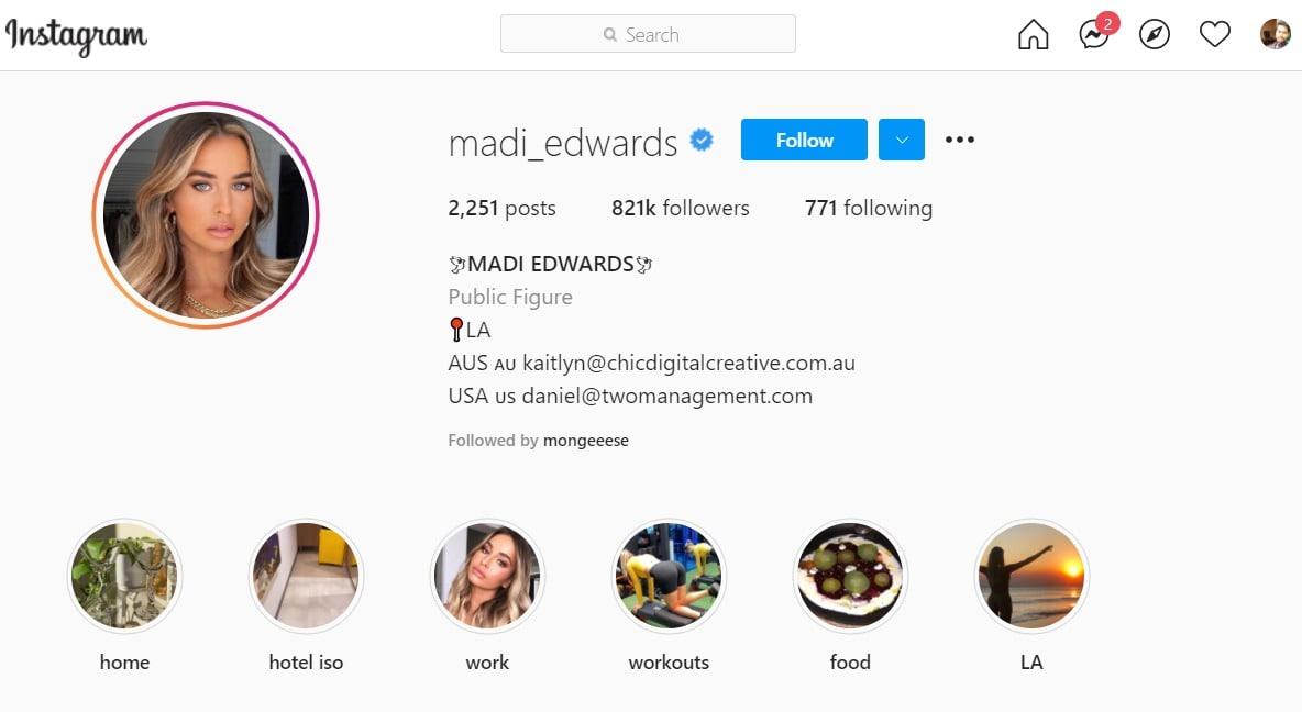 Madi Edwards