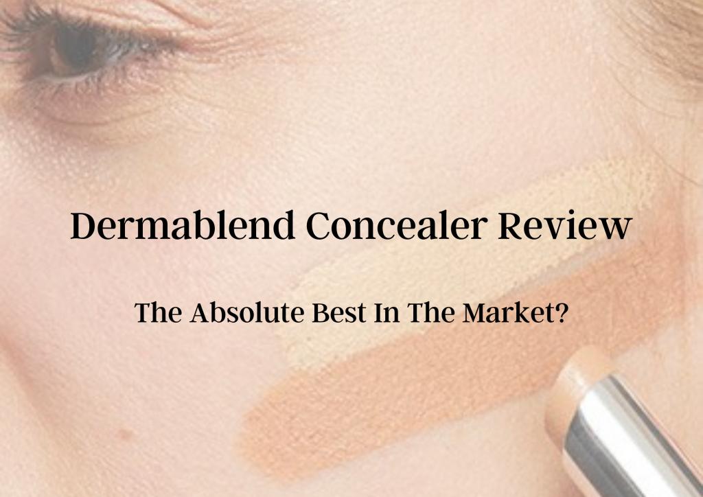 Dermablend Concealer Review