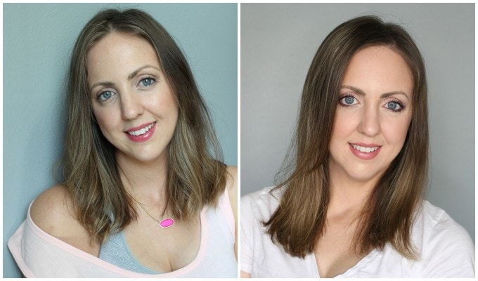 Viviscal Gorgeous Growth Densifying Shampoo before and after